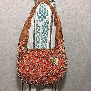 Jessica Simpson Bag Hobo Crochet Dream Catcher